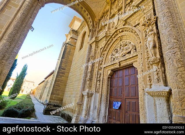 Dominican Monastery of Nuestra Señora de la Piedad, S. XVI, Renaissance Style, Spanish Property of Cultural Interest, Casalarreina, La Rioja, Spain, Europe
