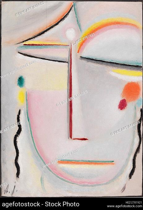 Abstract Head: Enlightenment II, 1919. Creator: Javlensky, Alexei, von (1864-1941)