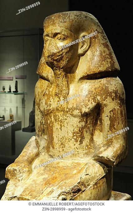 Governor Wakha son of Neferhotep, Egyptian museum, Turin, Italy, Europe