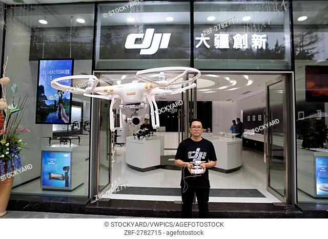 DJI Drone Store in Shenzhen (China)