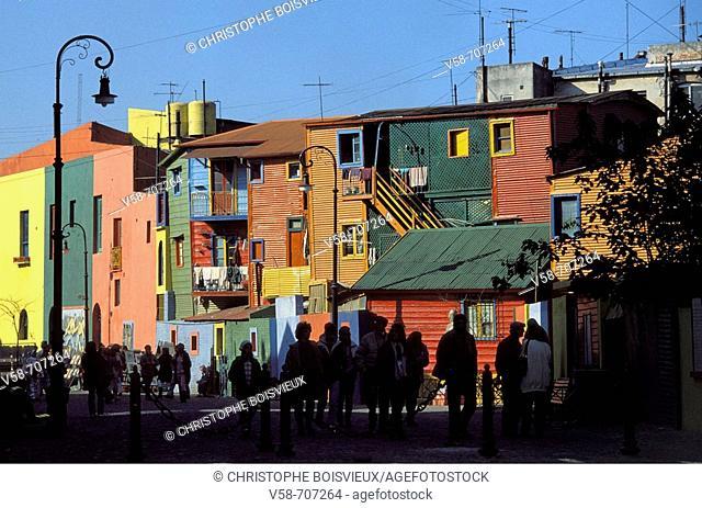 BOCA CAMINITO, BUENOS AIRES, ARGENTINA