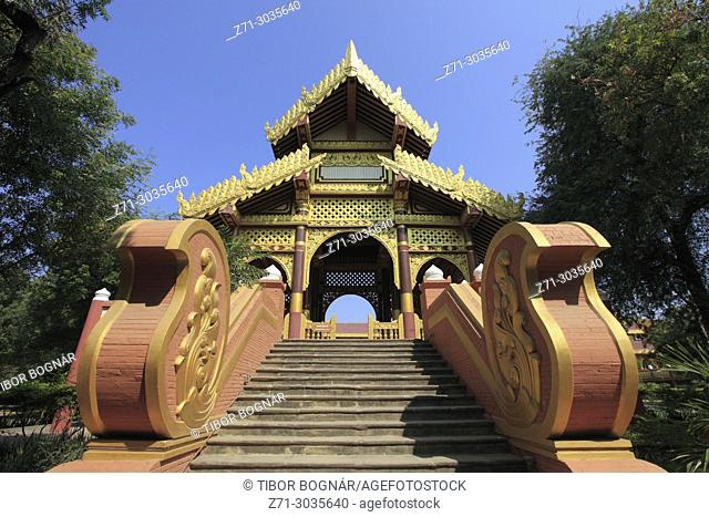 Myanmar, Burma, Bagan, King Anawrahta's Golden Palace, reconstruction,
