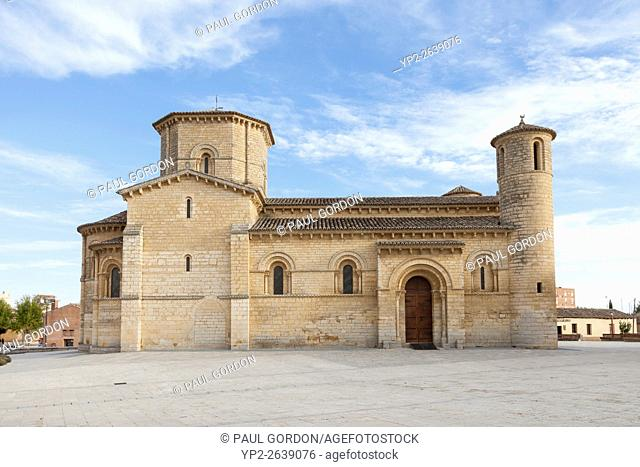 Frómista, Spain: San Martín de Tours de Frómista. The church was designated a National Monument in 1894. It is one of the purest examples of Spanish Romanesque...