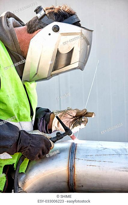 Welding in protective atmosphere of gases, TIG - Tungsten Inert Gas Welding