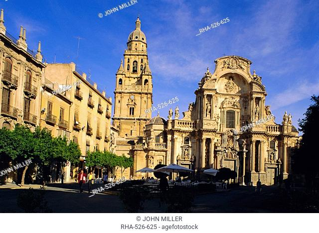 The Cathedral in Murcia, Murcia, Spain, Europe