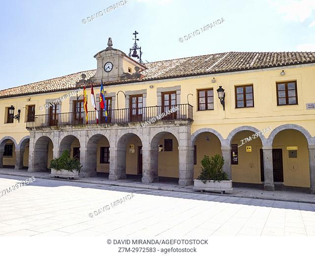 Ayuntamiento de Villacastín. Segovia, Castile-Leon, Spain
