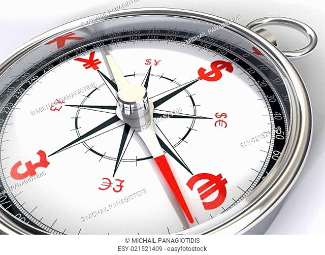compass for global currency