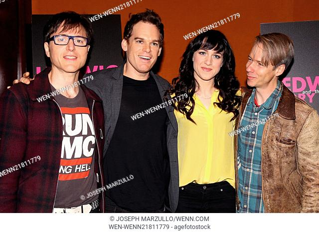 Michael c hall stock photos and images age fotostock meet and greet for the cast change at hedwig and the angry inch meet held m4hsunfo