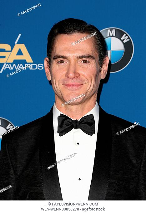 69th Annual Directors Guild Of America Awards Featuring: Billy Crudup Where: Beverly Hills, California, United States When: 05 Feb 2017 Credit: FayesVision/WENN