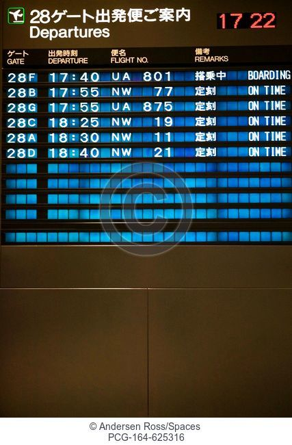 Flight Departure Board