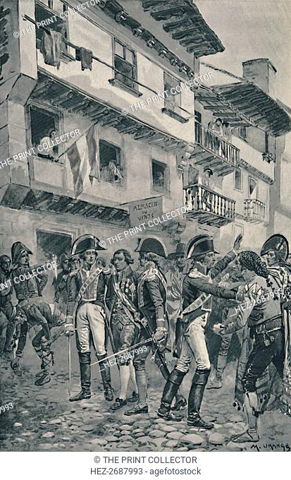 'Godoy Taken Into Custody By The Spanish Troops', 1896. Artist: Unknown