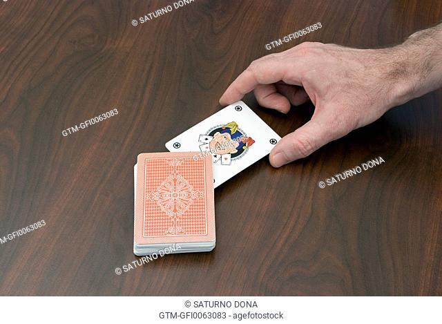 Jocker in pack of playing cards