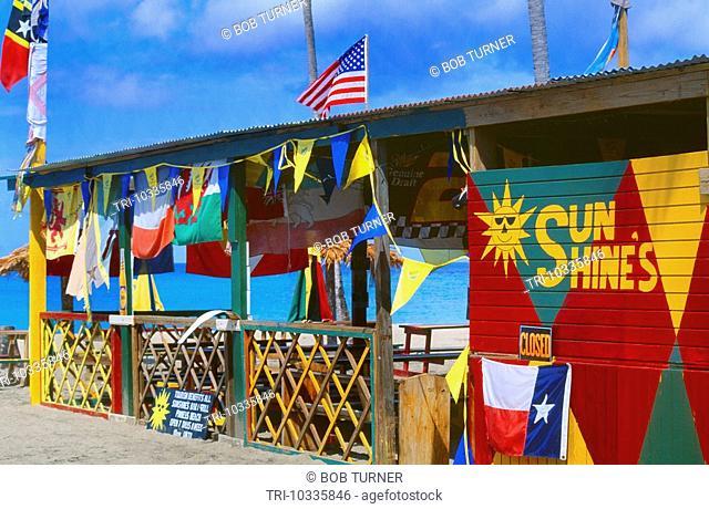 Nevis St Kitts Pinney's Beach Restaurant