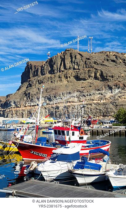 Puerto de Mogan, Gran Canaria, Canary Islands, Spain