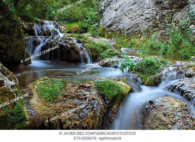 Puron River. Valderejo Natural Park. Alava. Basque Country. Spain