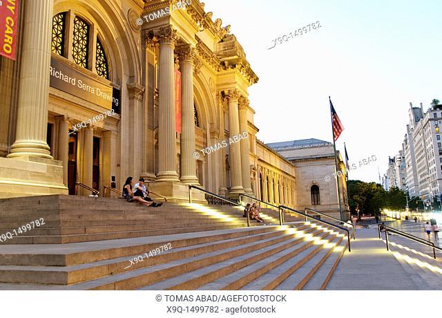 Metropolitan Museum of Art, 5th Avenue, New York City, USA