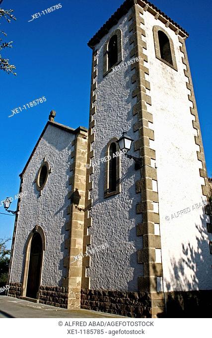 St Susana parish, Solsones, Catalonia, Spain
