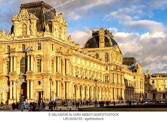 Palace of Louvre, Paris, France