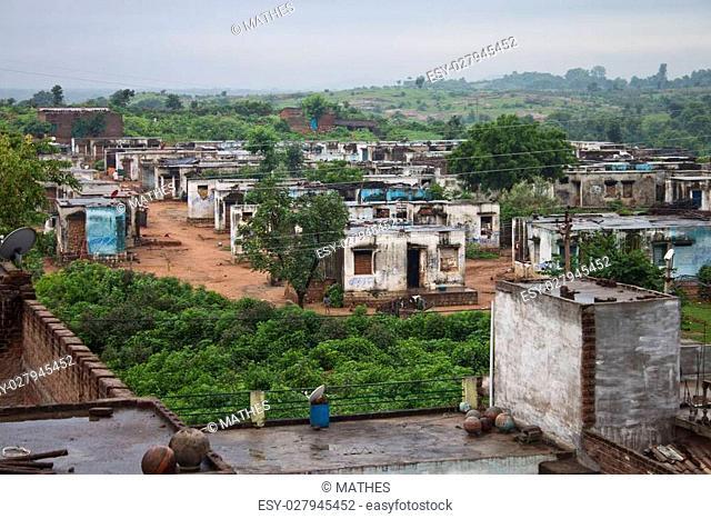 Orchha - village in Madhya Pradesh in India