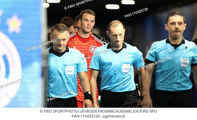 firo: 16.10.2018, Football, Country: National team, Season 2018/2019, Nations League France, France - Germany, Germany 2: 1 Manuel Neuer