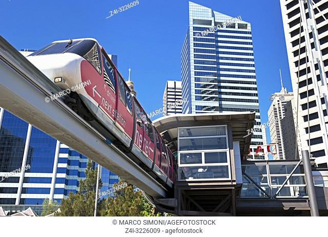 Monorail, Sydney, New South Wales, Australia,