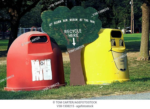Recycling center in Cambridge, Maryland