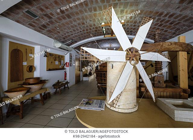 Museo de Etnografía de Formentera, Sant Francesc Xavier, Formentera, Balearic Islands, Spain