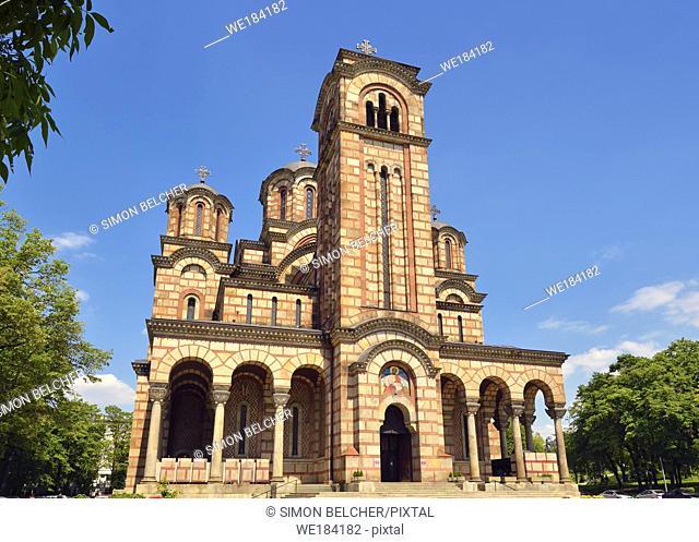 St Marks Church, Belgrade, Serbia