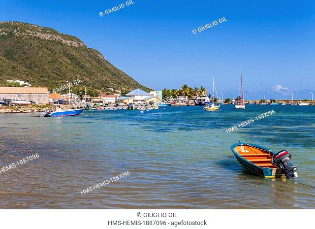 France, Guadeloupe (French West Indies), La Desirade, Beausejour beach