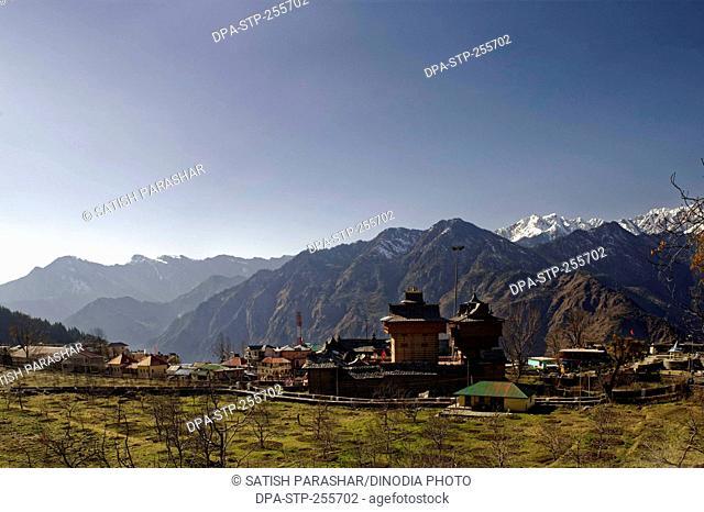 bhima temple, sarahan, himachal pradesh, india, Asia