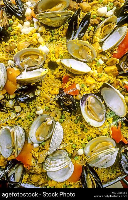 Seafood Paella. Spain
