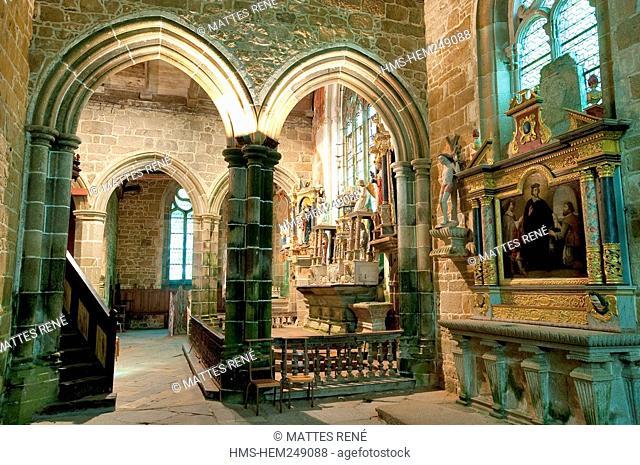France, Cotes d'Armor, Ploubezre, Chapelle Notre Dame de Kerfons chapel of our lady of Kerfons