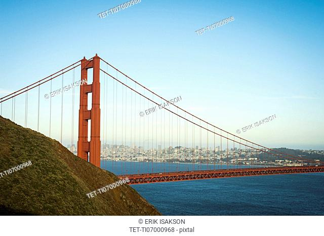 USA, California, San Francisco, California, Golden Gate Bridge