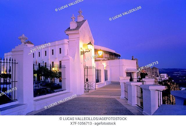 Balcony of Arcos,Arcos de la Frontera, Pueblos Blancos 'white towns', Cadiz province, Andalucia, Spain