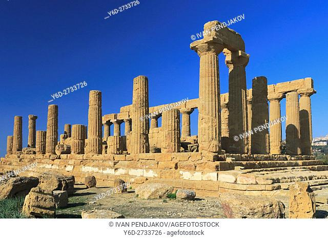 Temple of Juno, Valley of the Temples, Sicily, Italy