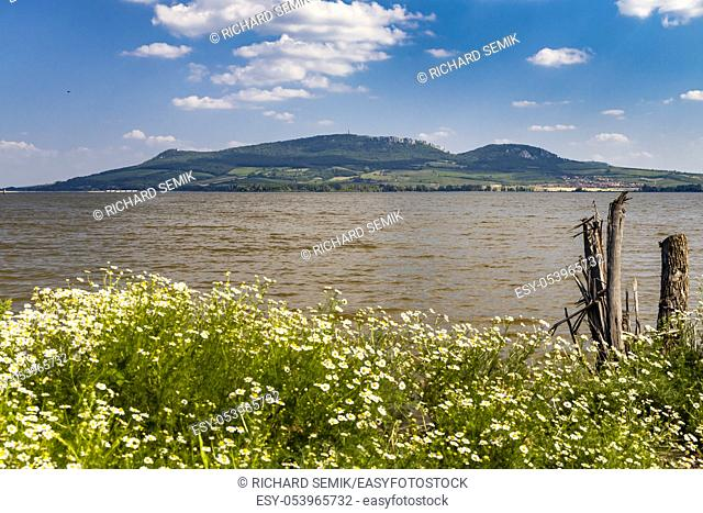 Nove Mlyny reservoirs with Palava, South Moravia, Czech Republic