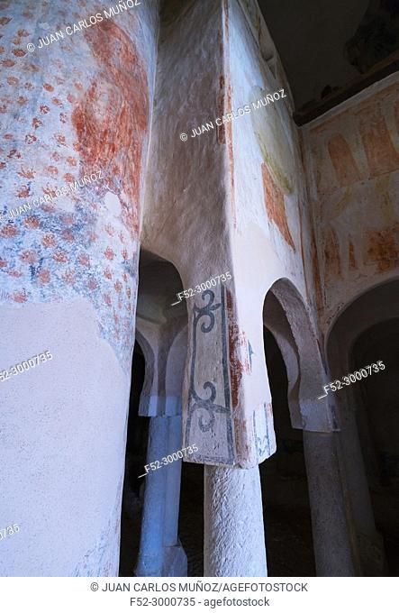 Hermitage of San Baudelio, Soria province, Castilla y Leon, Spain, Europe