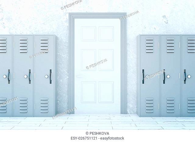 Grey Locker School Stock Photos And Images Agefotostock