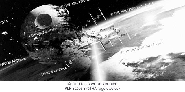 Death Star in Star Wars Episode VI: Return of the Jedi, 1983
