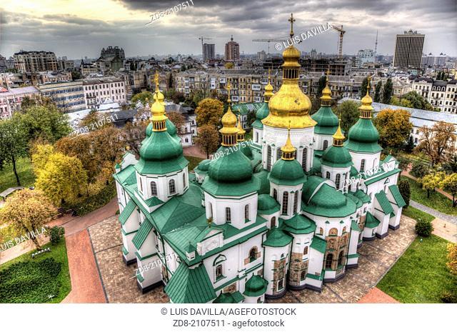 st.sophia cathedral in kiev.ukraine