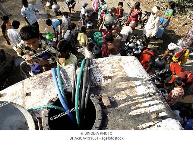 Water scarcity and Migration ; Marathwada ; Maharashtra ; India