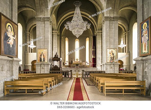 Nagorno Karabakh Republic, Shushi, Ghazanchetsots Cathedral, 19th century, interior