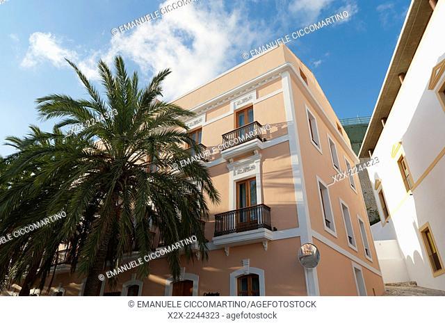 Mirador Hotel, Old Town, Dalt Vila, Eivissa, Ibiza, Balearic Islands, Spain, Mediterranean, Europe