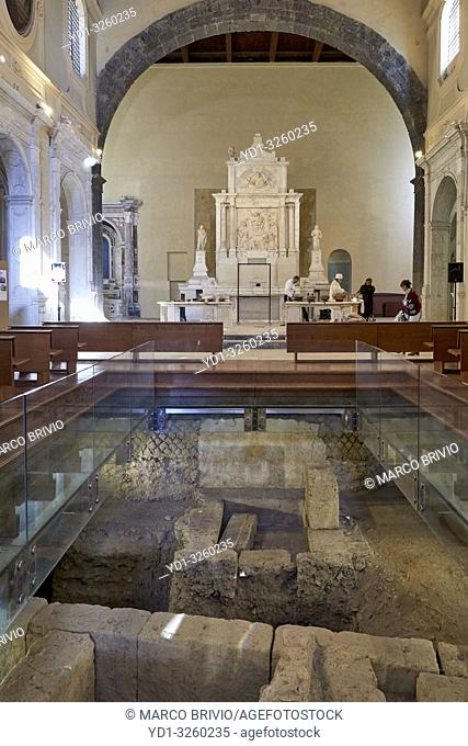 Naples Campania Italy. Sant'Agnello Maggiore, also called Sant'Aniello a Caponapoli or Santa Maria Intercede, is a church in the historical center of Naples