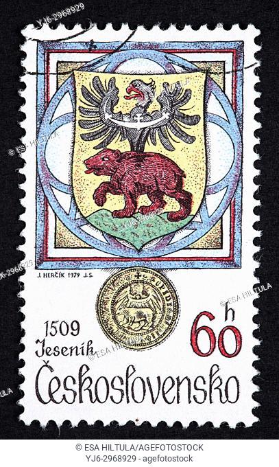 Czechoslovakian postage stamp