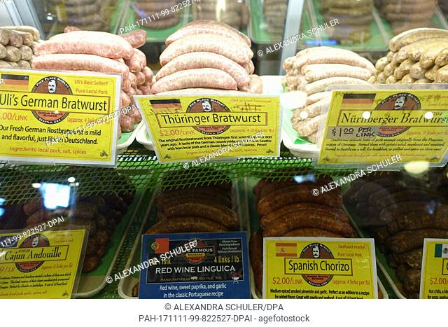 German butcher shop Stock Photos and Images | age fotostock