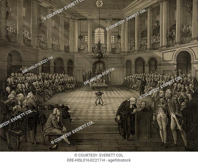THE LAST PARLIAMENT OF IRELAND, enacted the 'Act of Union of 1800,' after nationalist resistance was defeated by British bribes to members