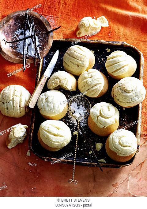 Mexican Vanilla Sweet Bread