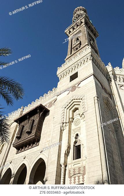 Abu al-Abbas al-Mursi Mosque, Mosque Square, Alexandria, Egypt