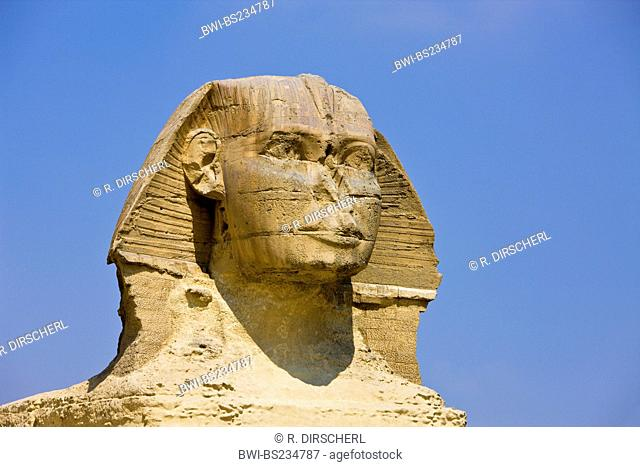 Great Sphinx of Giza, Egypt, Kairo